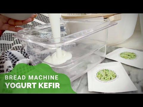 HOW TO: KEFIR (DRINKABLE YOGURT) | HOMEMADE KETO-FRIENDLY PROBIOTIC DRINK | Hadin Eeon Bread Maker