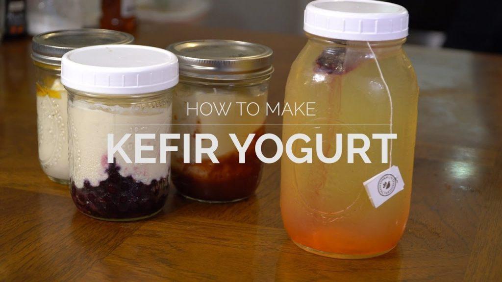 How To Make KEFIR Yogurt