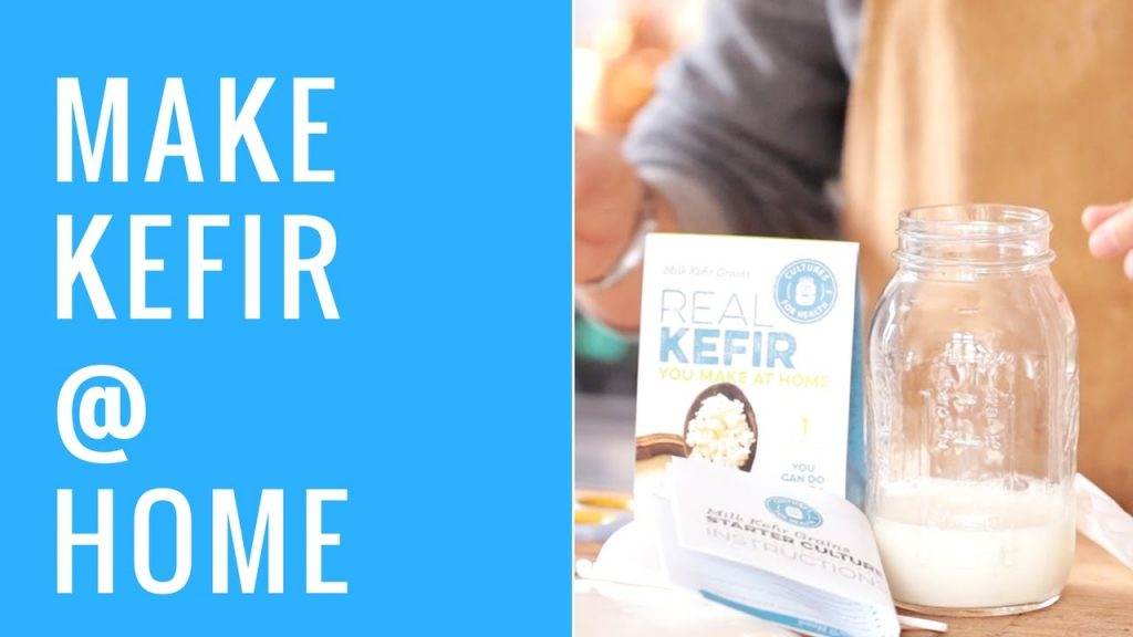 How To Make Your Own Milk Kefir At Home | Probiotics For Weight Loss