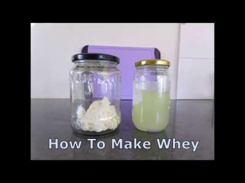 How to Make Kefir Whey, A Starter Culture