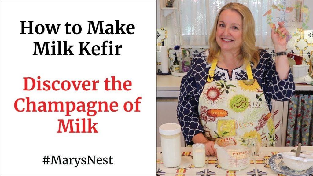 How to Make Milk Kefir – A Probiotics Rich Fermented Drink for Good Gut Health