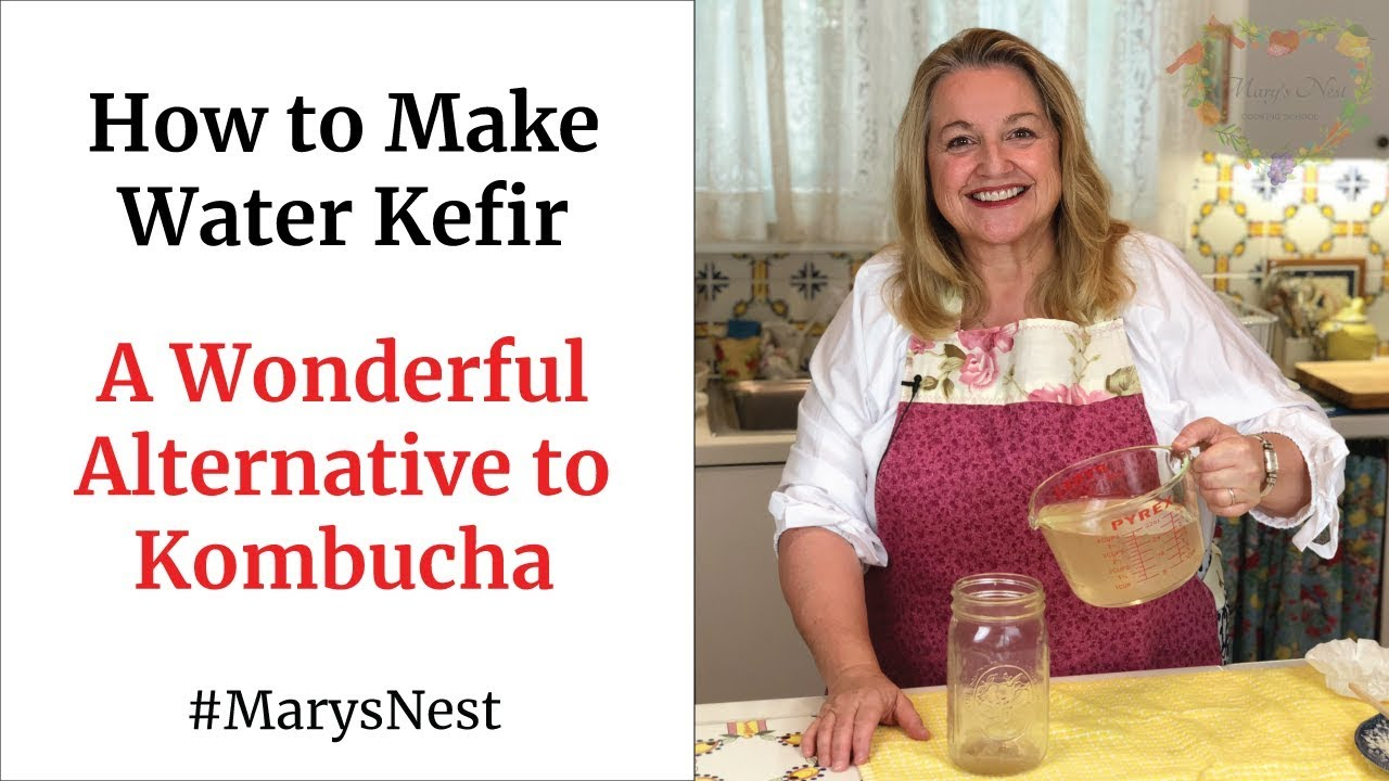 How to Make Water Kefir - A Probiotics Rich Fermented Drink for Good Gut Health