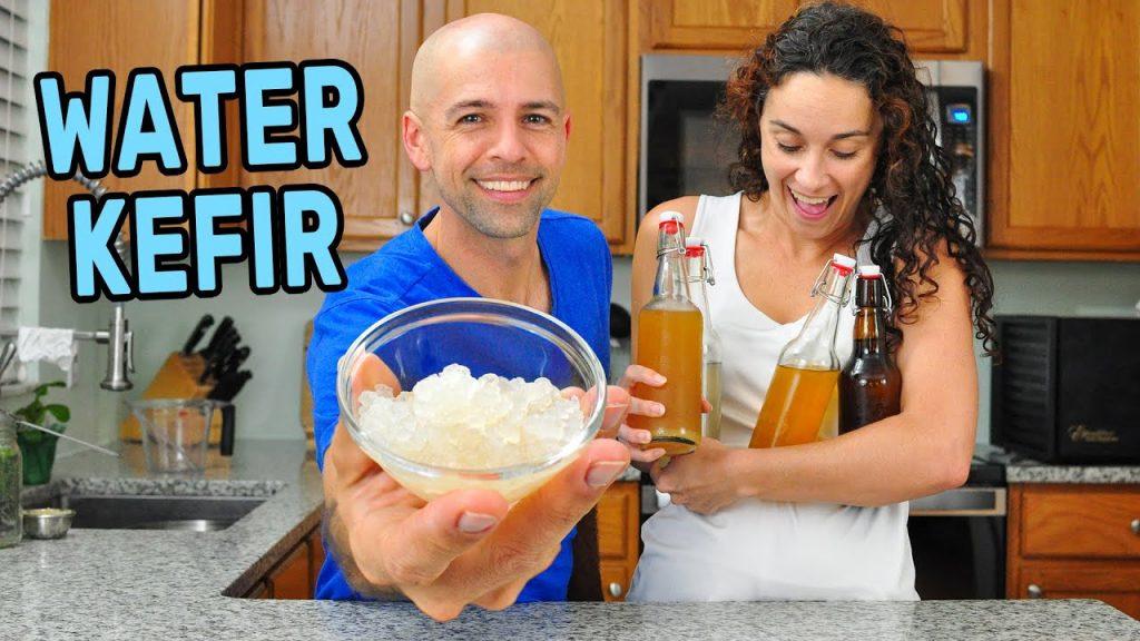 How to Make Water Kefir | Fermented Drink with Water Kefir Grains Starter Culture