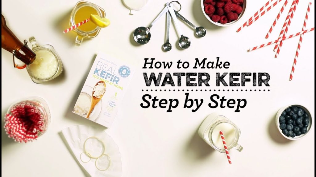 How to Make Water Kefir – Step by Step Guide