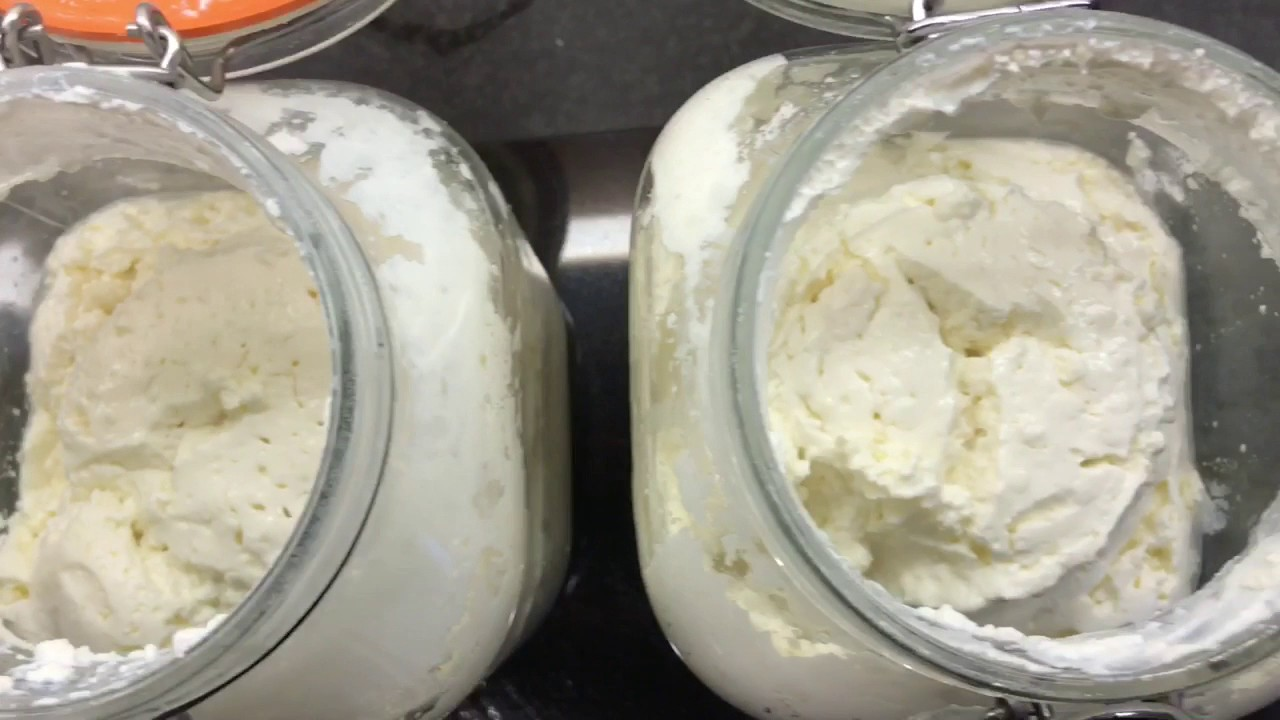 How to make REALLY thick Kefir yoghurt