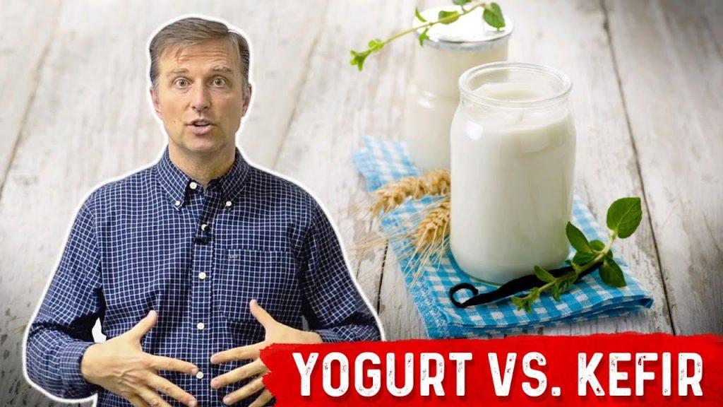 Yogurt vs Kefir: An Interesting Difference | Dr. Berg